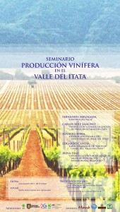 Seminário Producción Vinífera en el Valle del Itata en baja