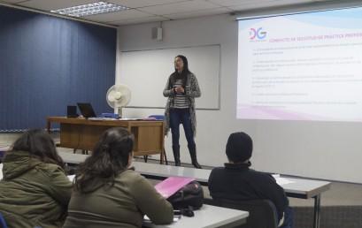 Charla Informativa Proceso Prácticas Profesionales 2017