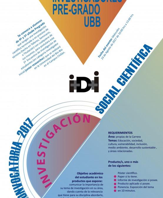 1er Encuentro de Estudiantes, Investigadores y Pre-grados UBB