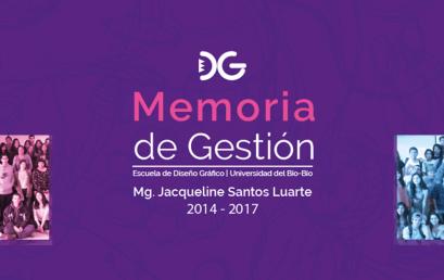 Memoria de Gestión 2014 – 2017 | Jacqueline Santos L.