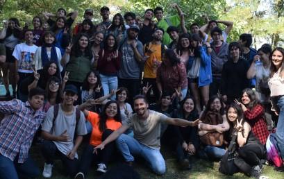 Bienvenida e Inducción a los nuevos integrantes de la Escuela de Diseño Gráfico