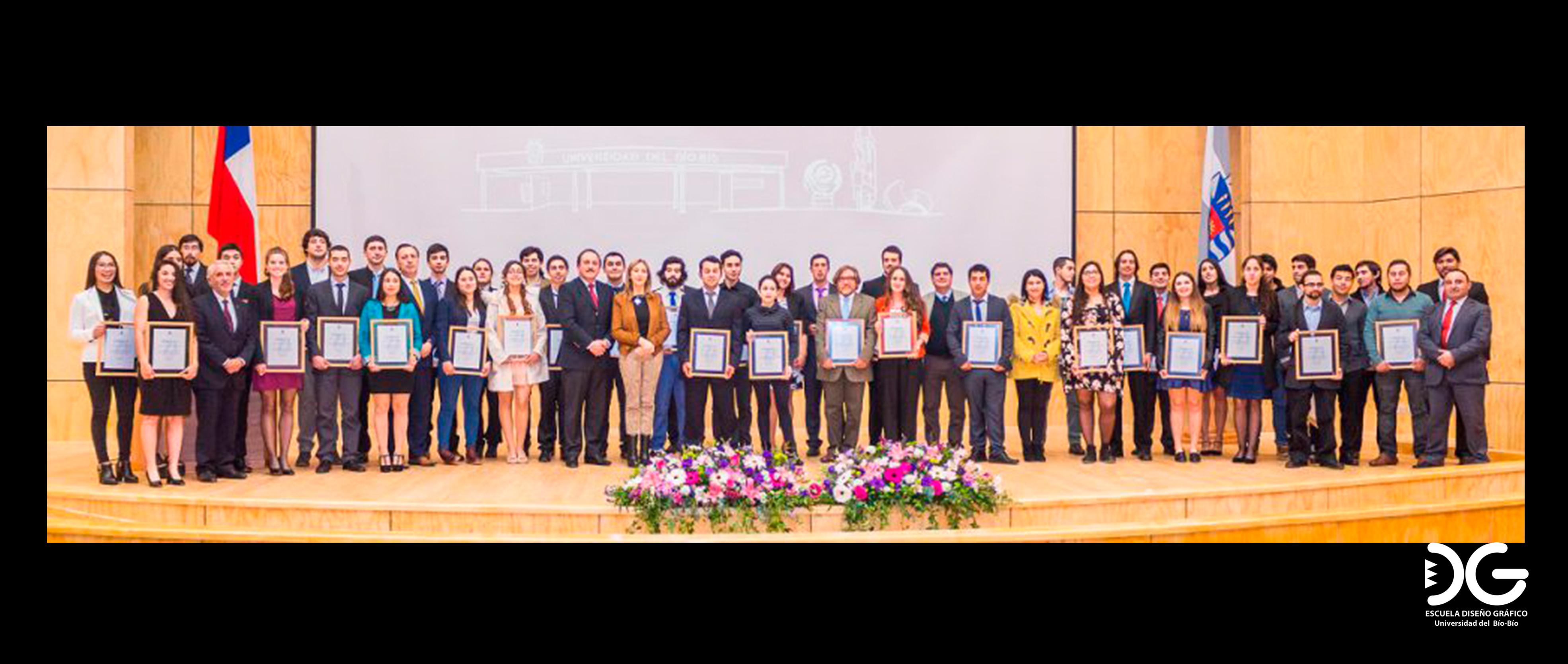 Deportista de Diseño Gráfico fue premiado por la UBB